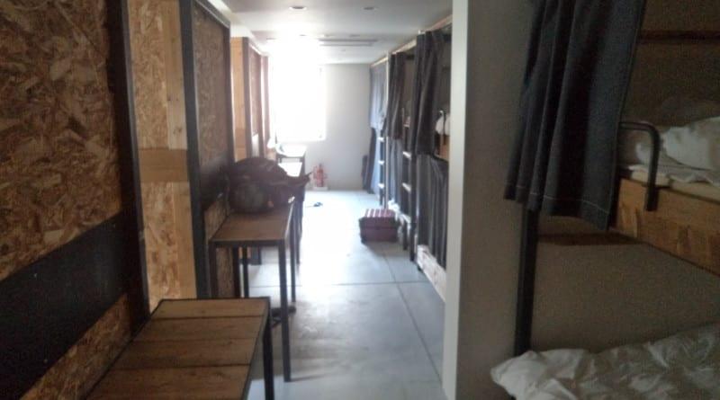 Quarto em Hostel com 18 camas