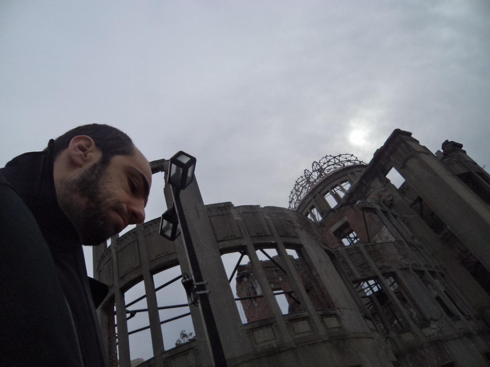 A-Bomb Dome, em Hiroshima, Japão