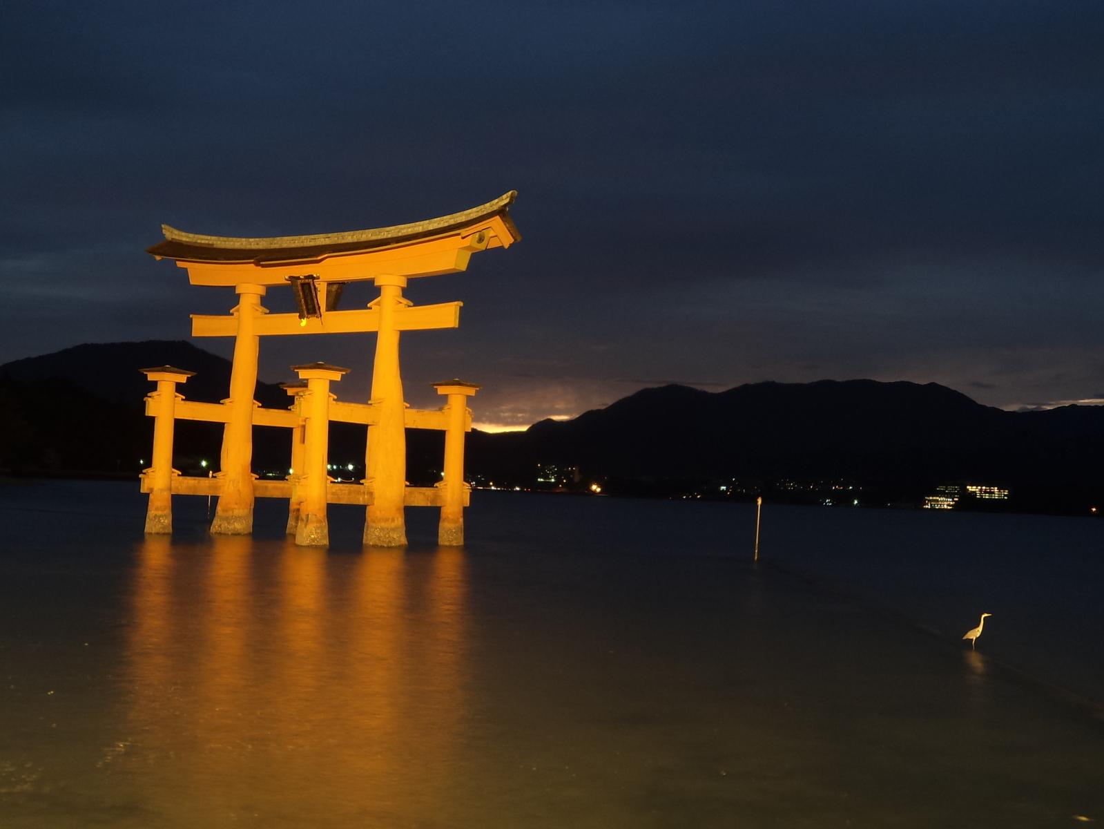 Itsukushima Shrine, em Miyajima, Japão
