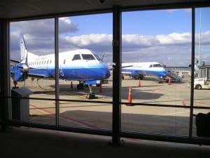 Aviãozinho que me levou até Myrtle Beach, a partir do Dulles International Airport (IAD)