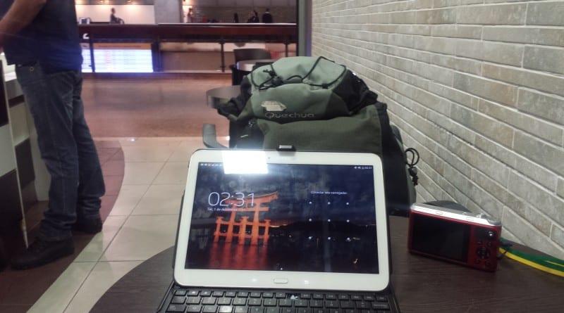 Café no aeroporto