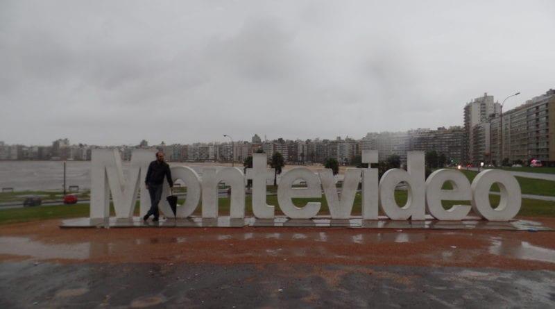 Monumento em Montevidéu, Uruguay
