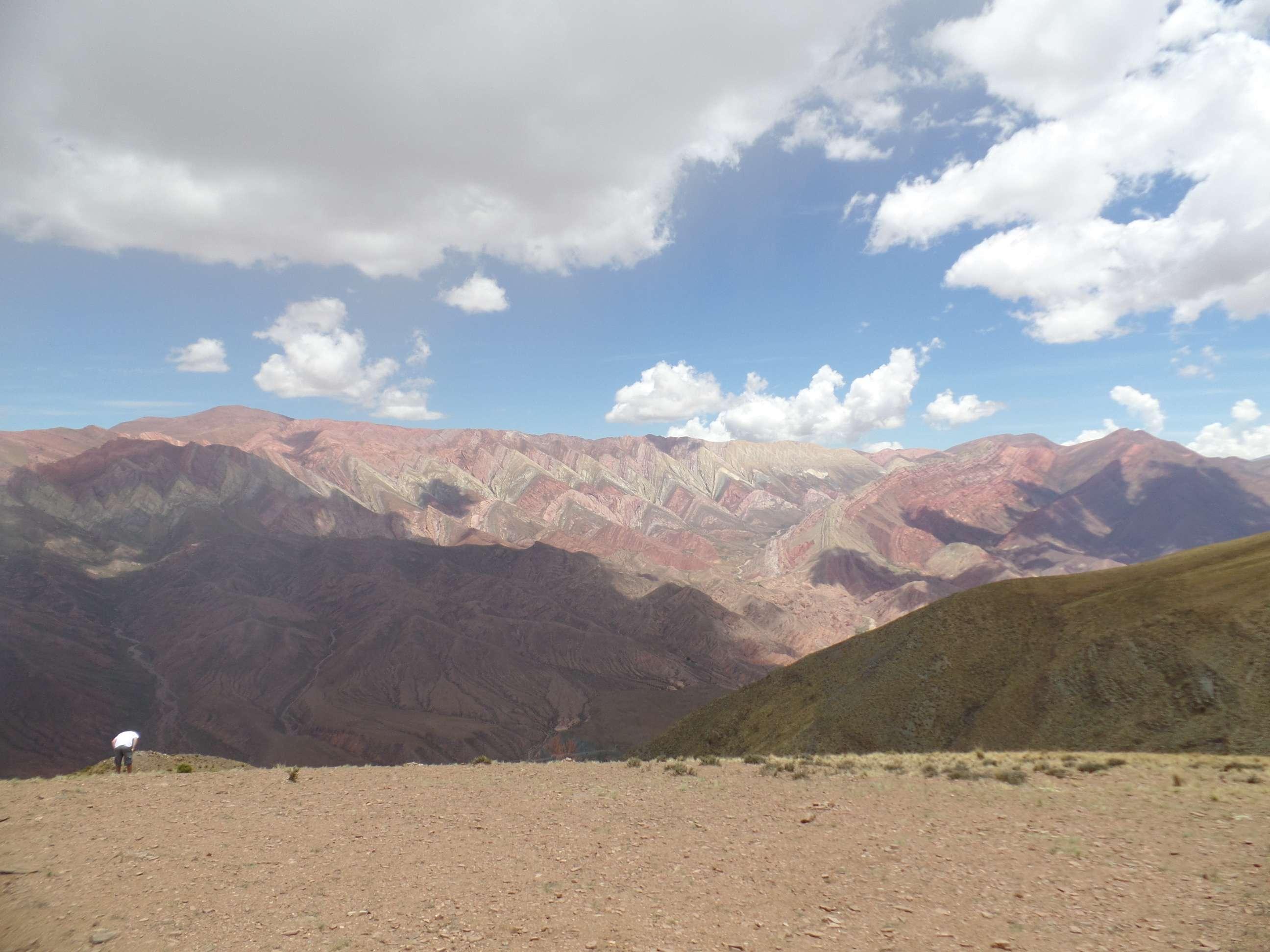 Hornocal, o Cerro de 14 colores, Tílcara, Norte da Argentina