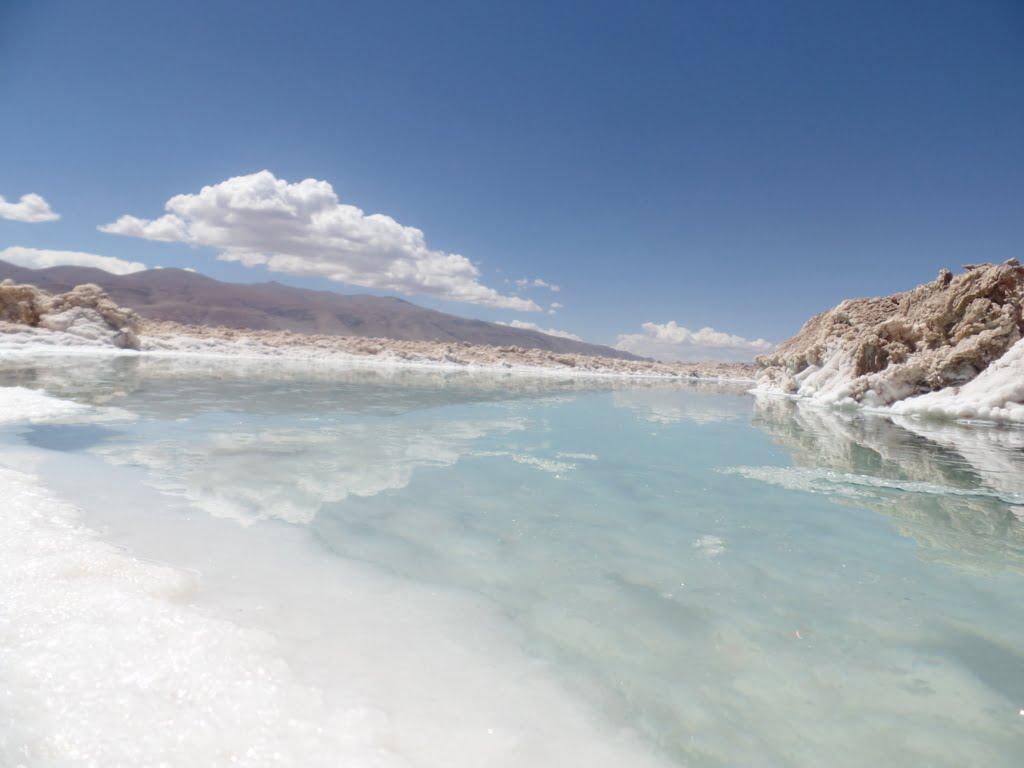 Salar de Pocitos, próximos ao Tolar Grande, em Salta no norte da Argentina
