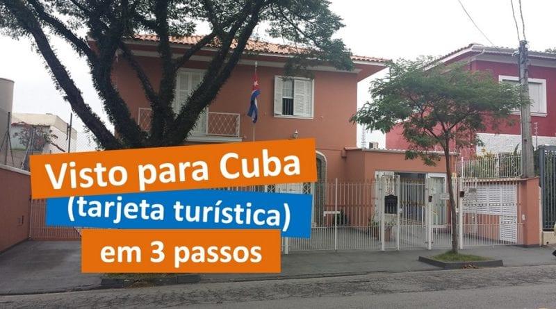 "Visto para Cuba: A ""Tarjeta Turística"" em 3 pasos"