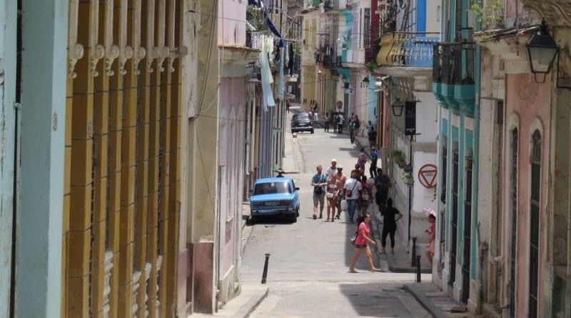 Ruas do centro histórico de Havana, Cuba