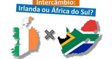Intercâmbio na Irlanda ou África do Sul