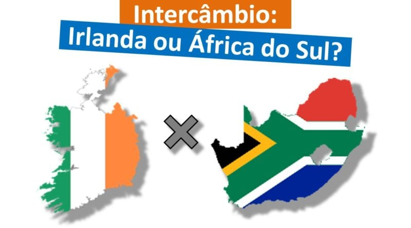 Intercâmbio na Irlanda ou África do Sul