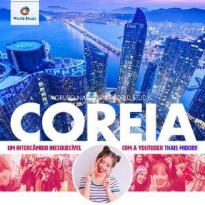 Intercâmbio na Coreia do Sul em 2019